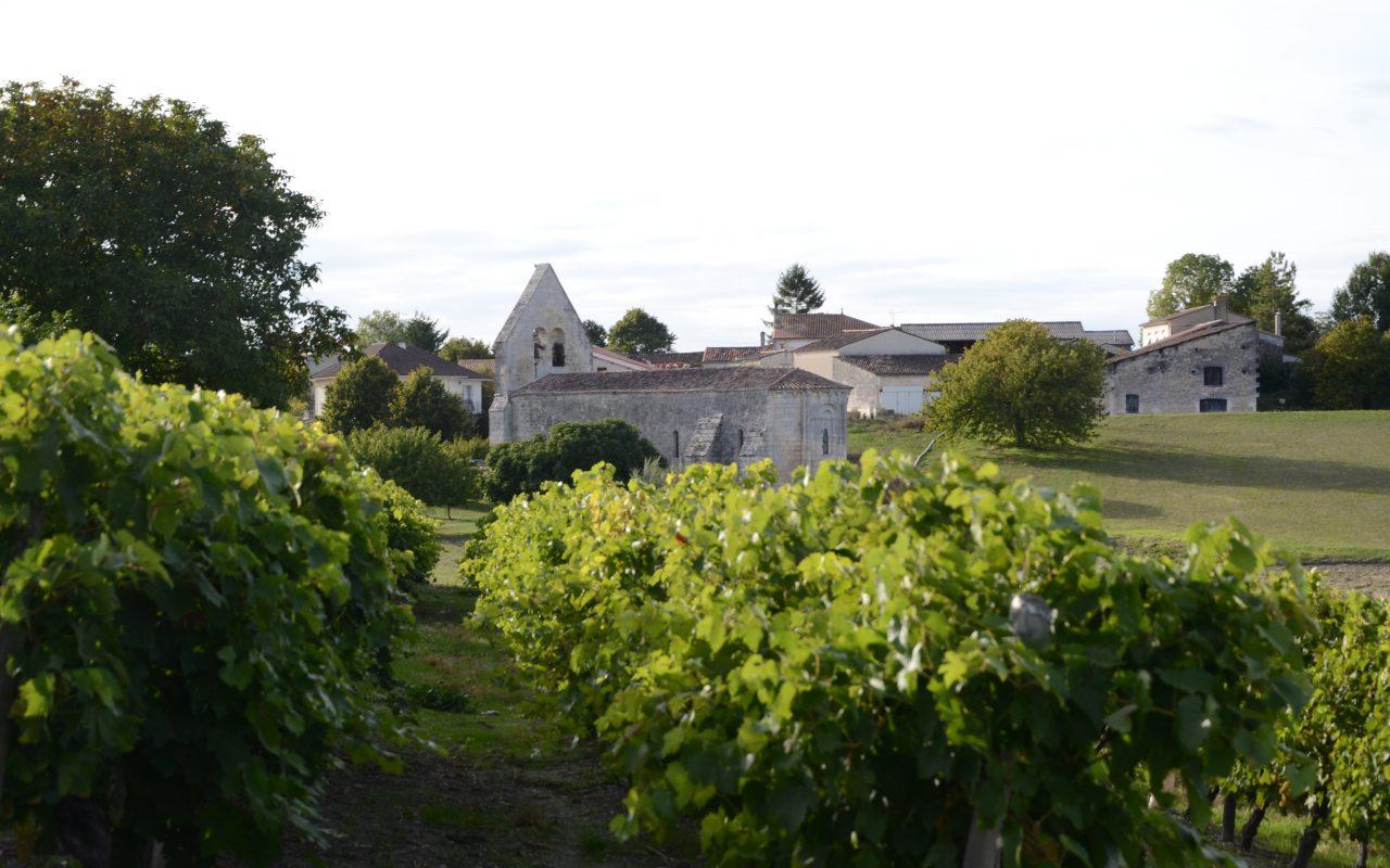livingincognac - eraville -église - vignes - cognac