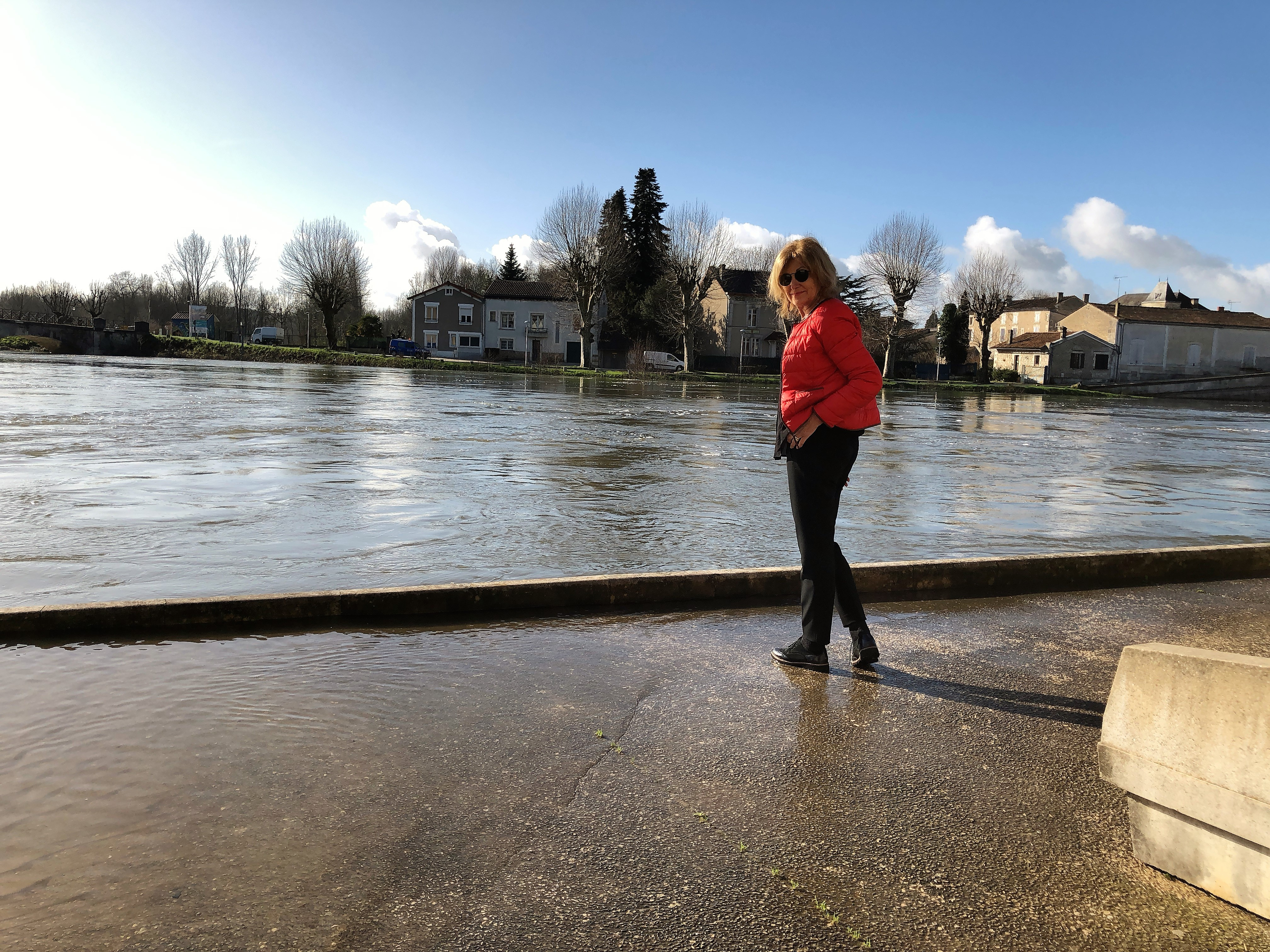 livingincognac 2018 Jarnac flood