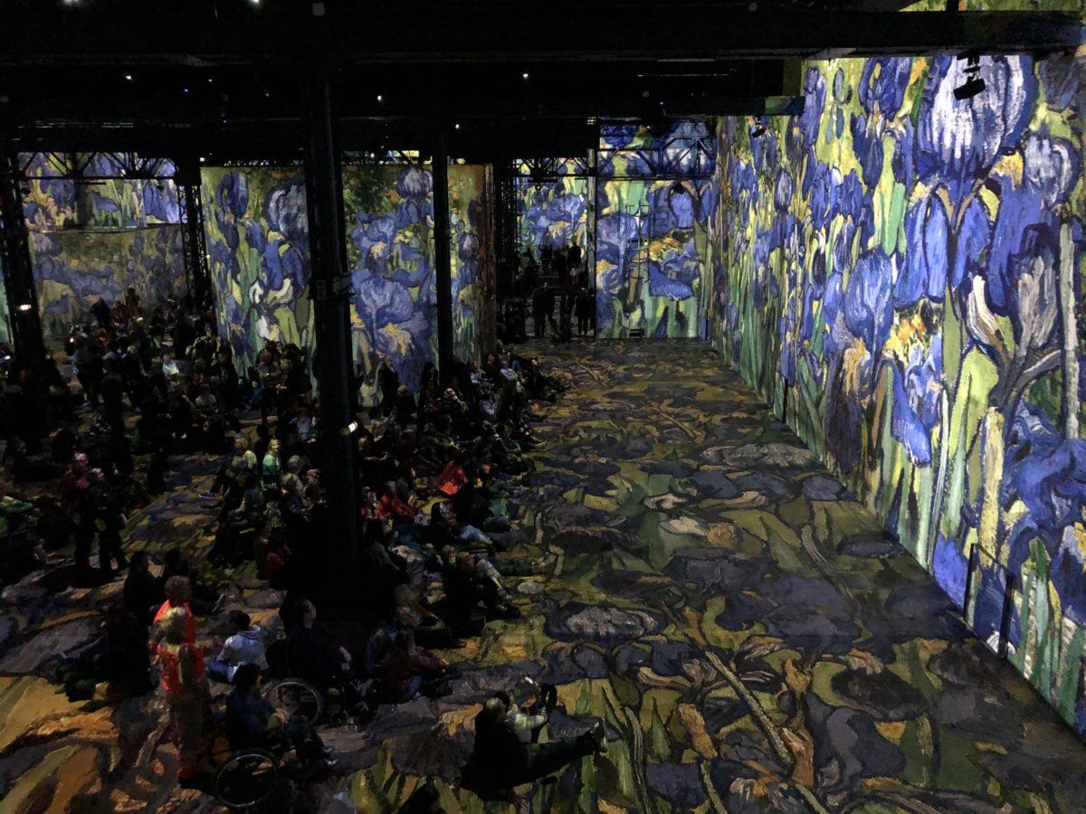 livingincognac l atelier des lumières Van Gogh