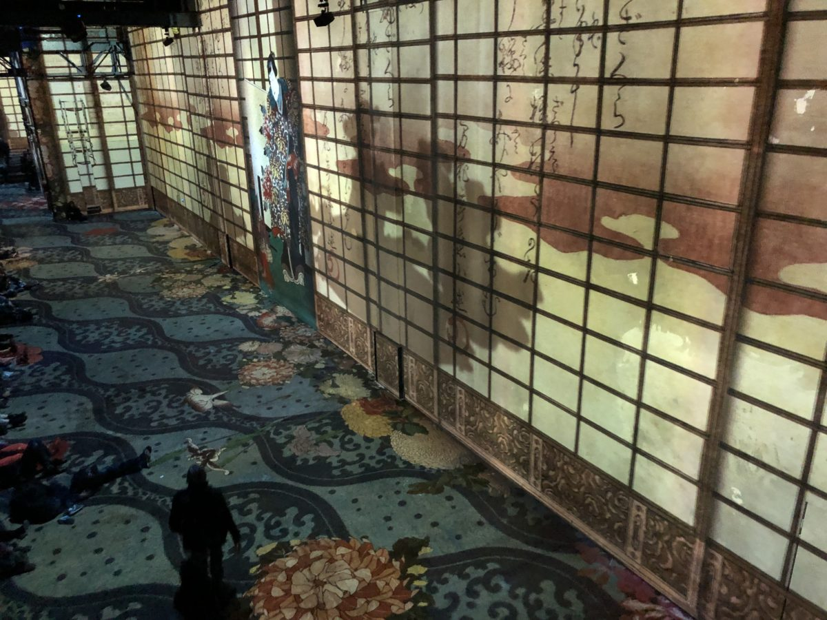 livingincognac l atelier des lumières Van Gogh et japon rêvé
