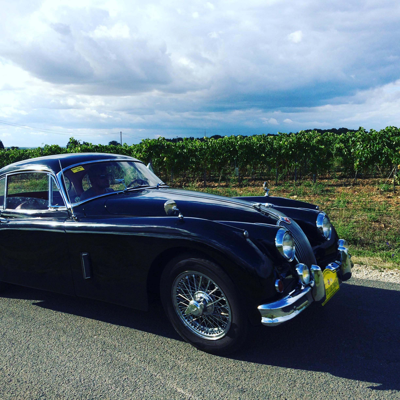 Rallye du Circuit des Remparts d'Angoulême dans les vignes de cognac