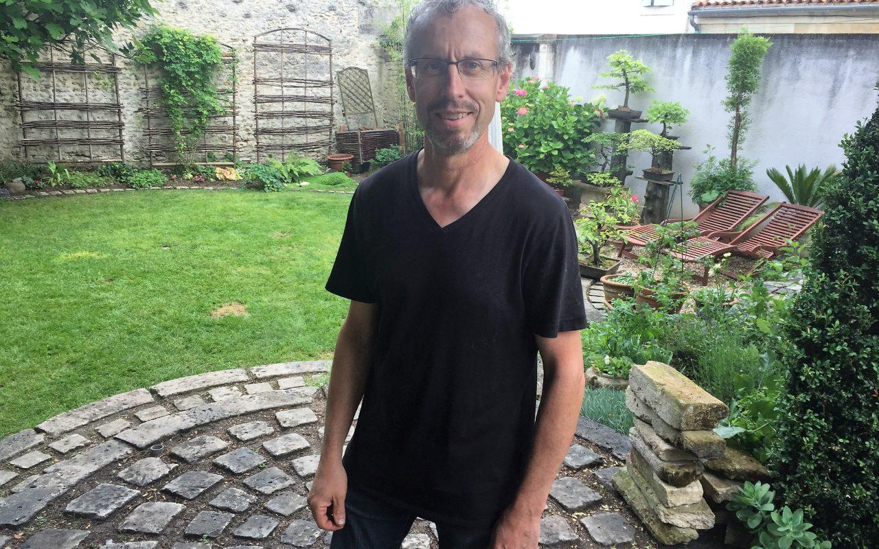 livingincognac 2017 François le jardinier