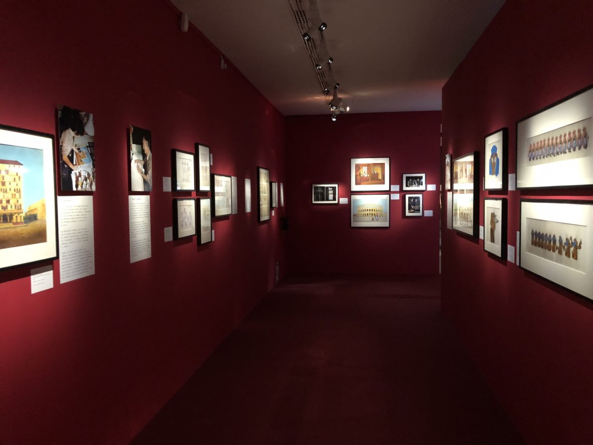 living-in-cognac 2018 Exposition Goscinny et le cinéma