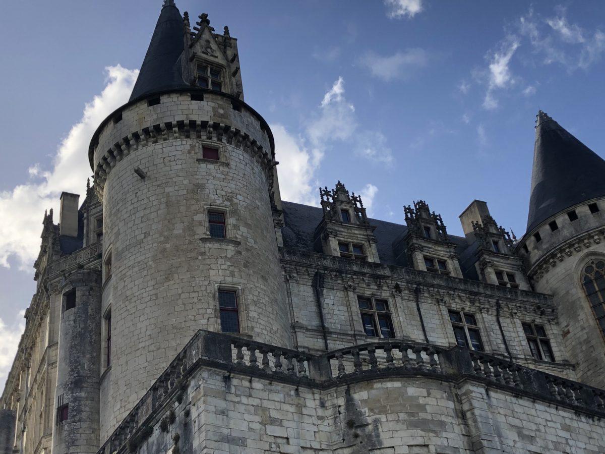 Vue extérieur du château de La Rochefoucauld