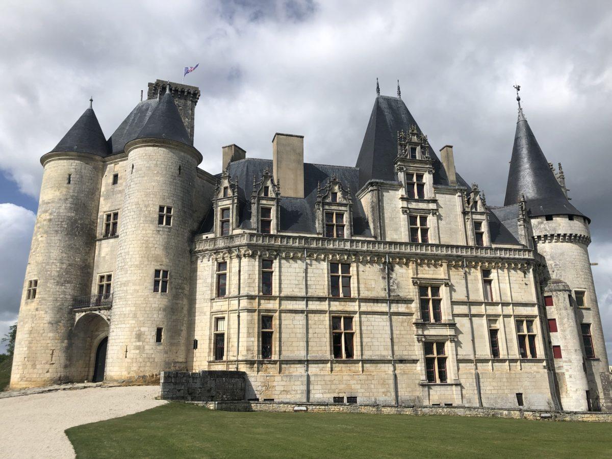 L'entrée du château de La Rochefoucauld