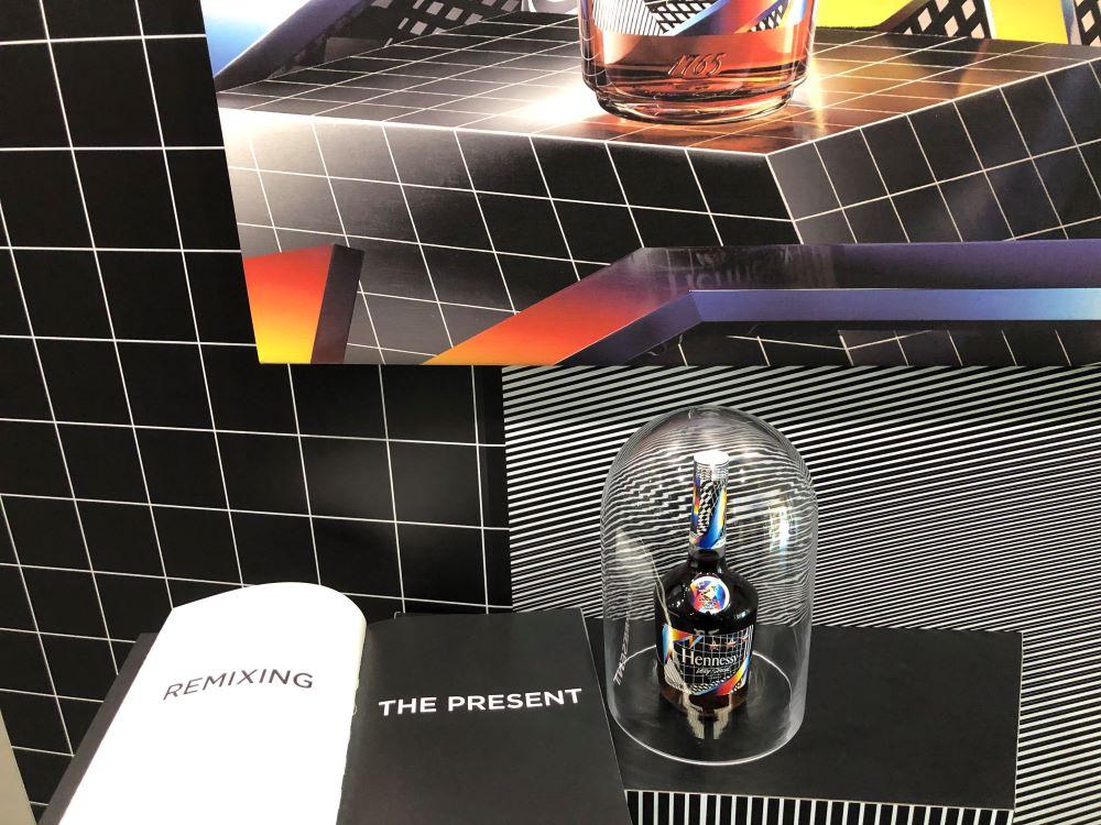 Atelier mixologie chez Hennessy dans l'univers de Felipe Pantone