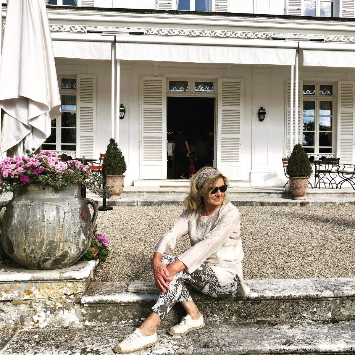 Au chateau de Bagnolet chez hennessy pendant les journées du patrimoine