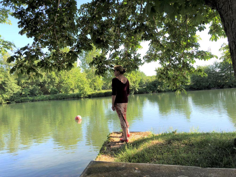 Anne du blog Living in Cognac au bord de la Charente près de Cognac