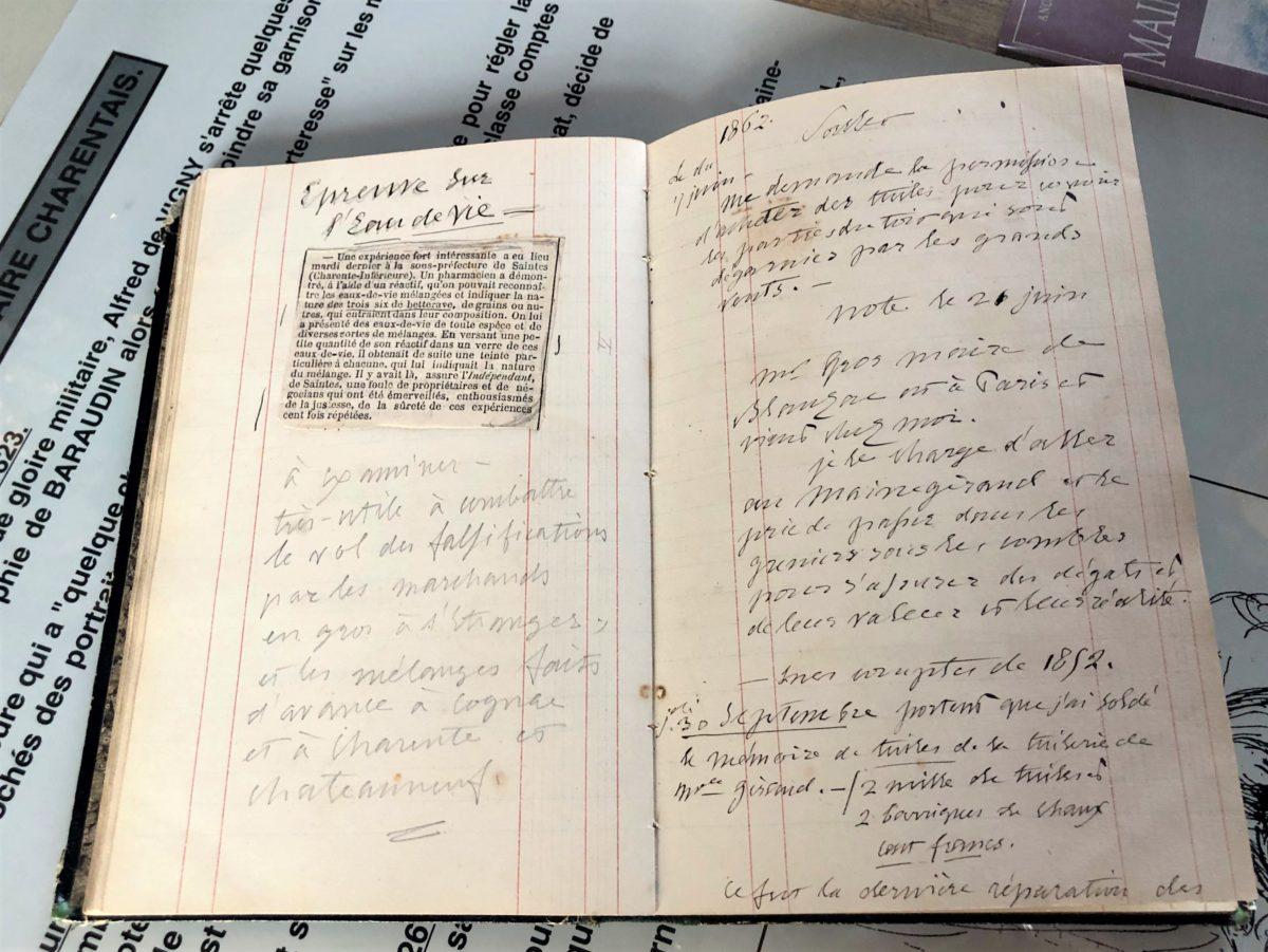 Alfred de Vigny était très attentif aux contrefaçons qui nuisait à la réputation du cognac