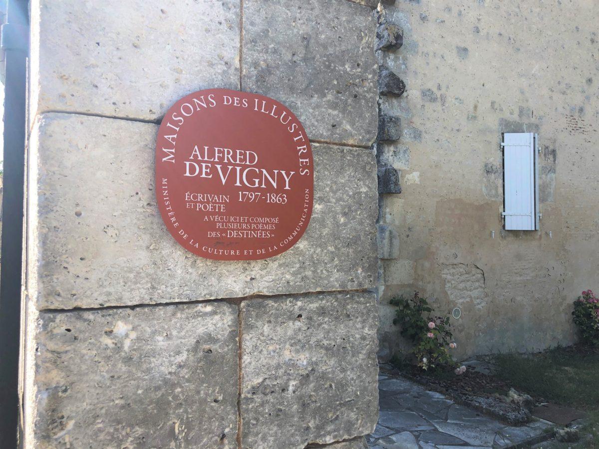 Le Maine Giraud, propriété de cognac fait partie des maisons d'écrivains