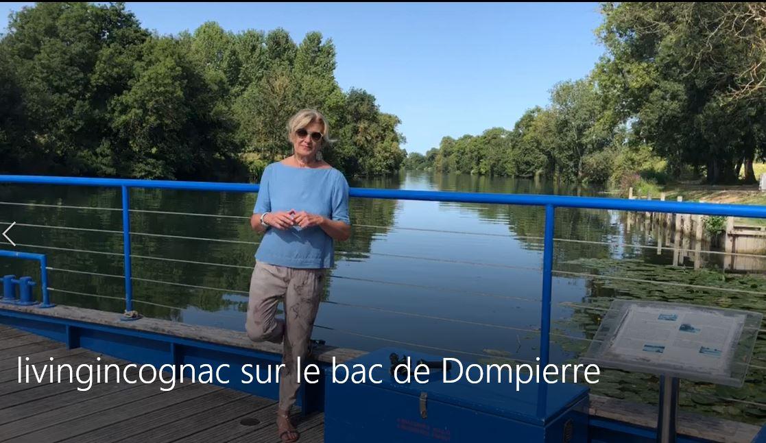 le passage du bac à chaîne de Dompierre
