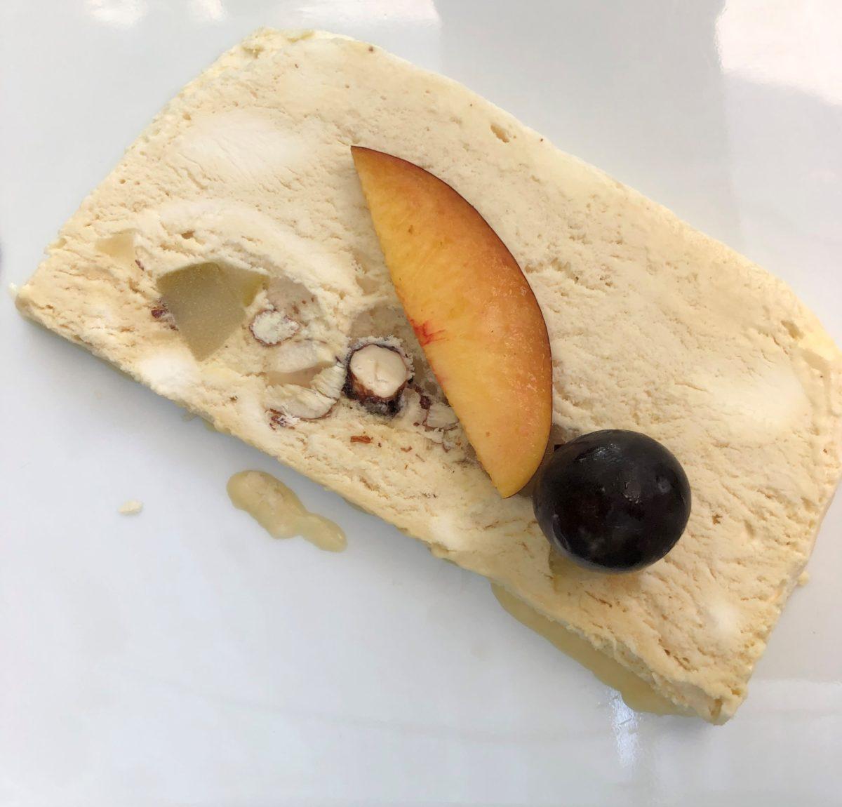 dessert du restaurant le grenier du nebbiu en corse