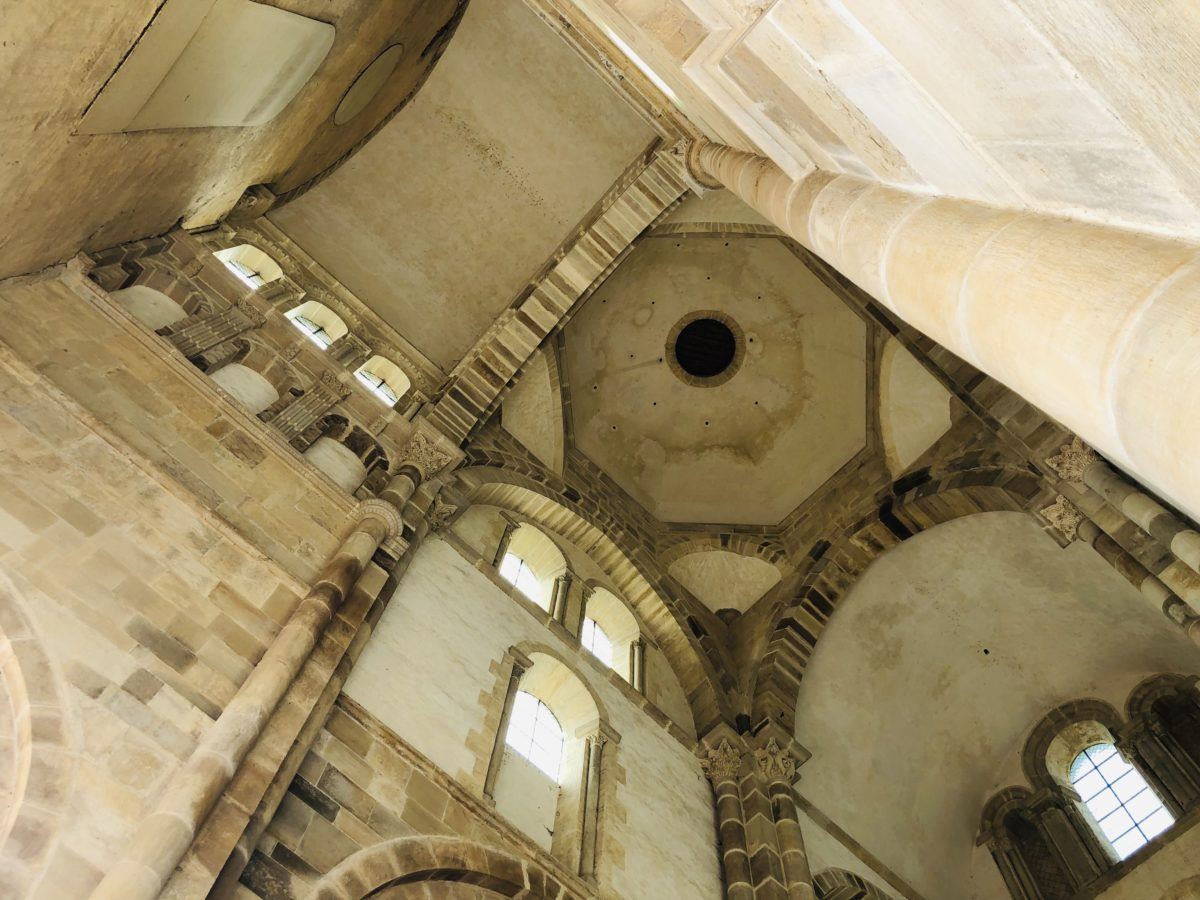 eglise de Cluny grand transept