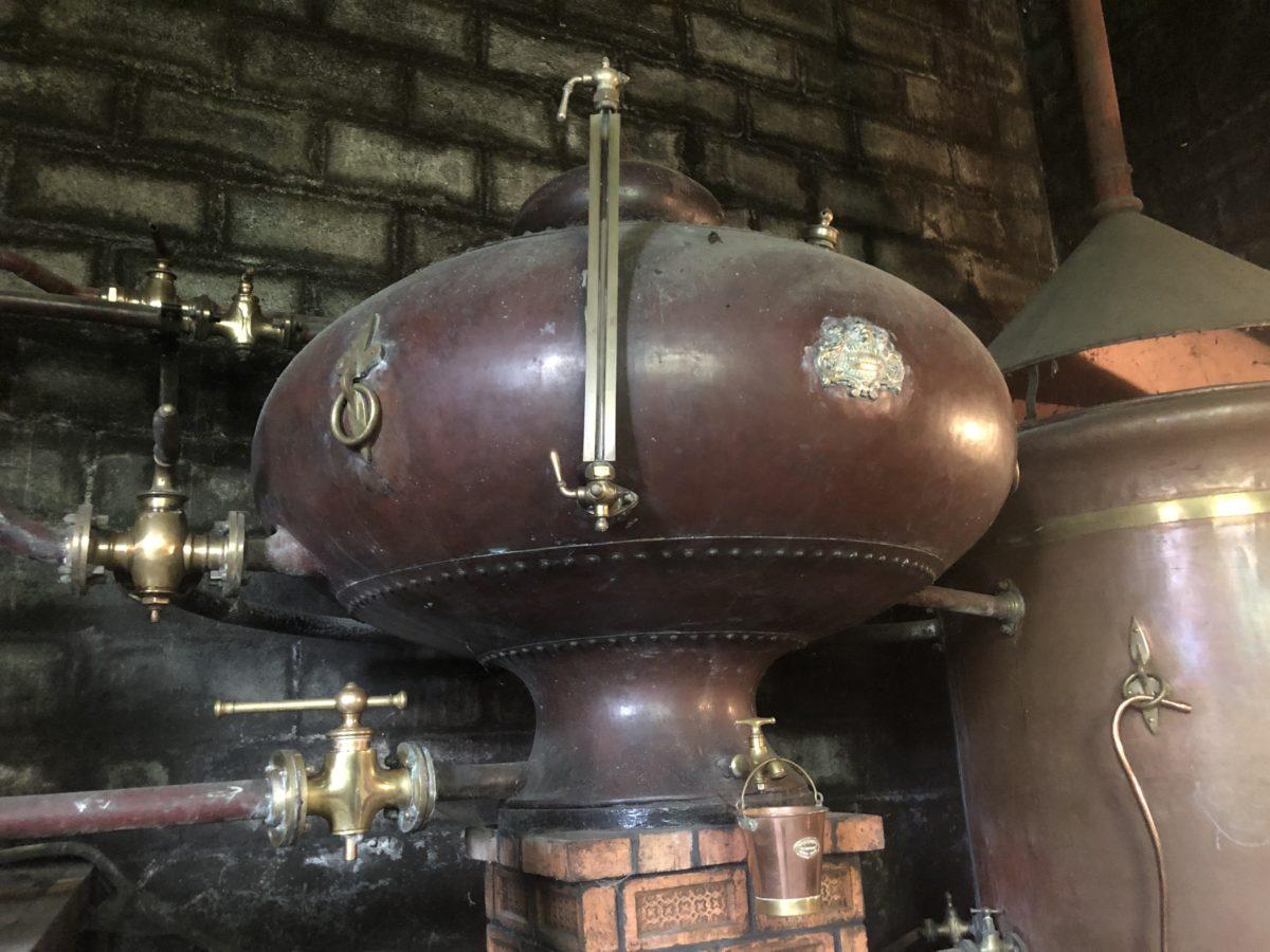 le cuivre rouge de la distillerie des Gatinauds