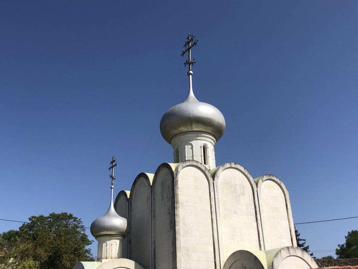 église orthodoxe de Grassac en Charente