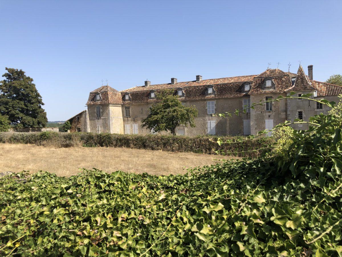 le logis de la Bréchinie en Charente