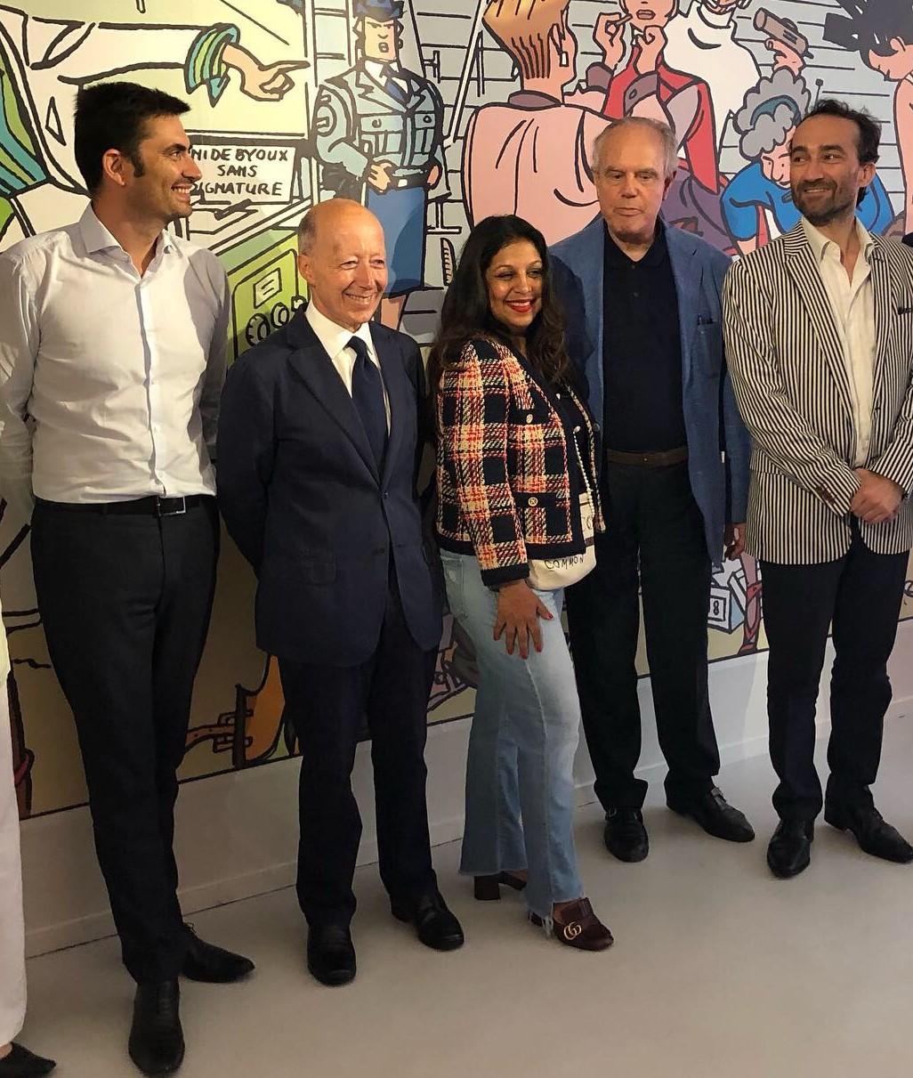 vernissage de l'exposition mode et bande dessinée juin 2019 Angoulême