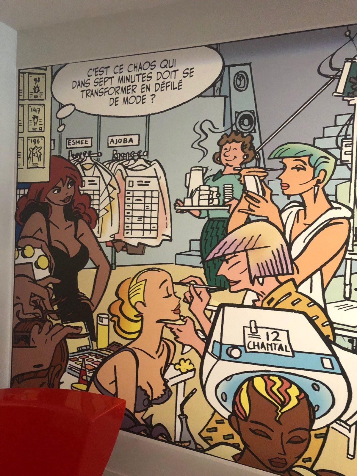 exposition mode et bande dessinée angoulême