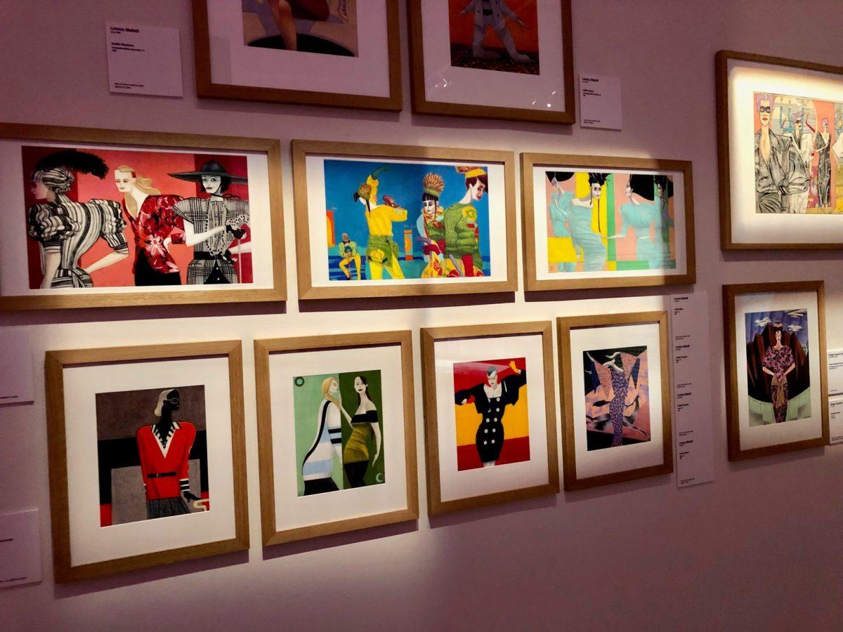 Exposition mode et bande dessinée Lorenzo Mattotti