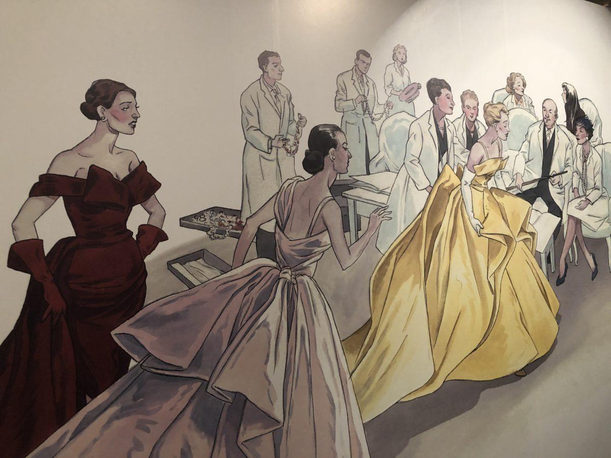 exposition mode et bd Annie Goetzinger
