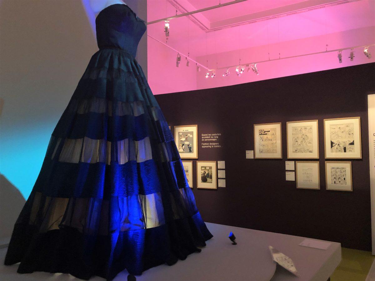 exposition mode et bande dessinée Dior