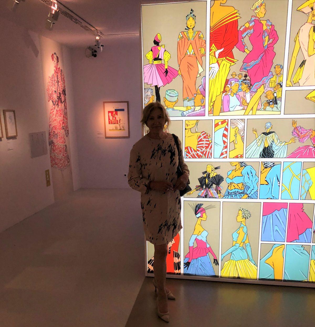 exposition mode et bande dessinée Anne Loloum Frangeul Living in cognac