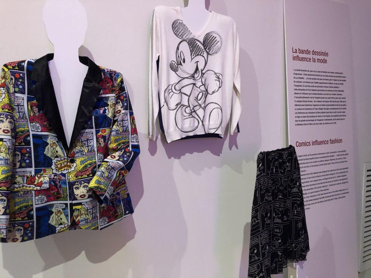 exposition mode et bande dessinée Jean Charles de Castelbajac