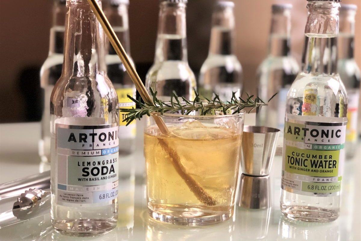 le cocktail cognac artonic mixer premium français