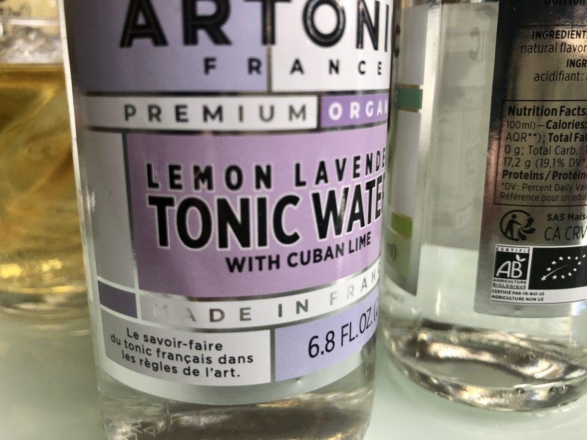 le lemon lavender de la gamme de mixers premium Artonic