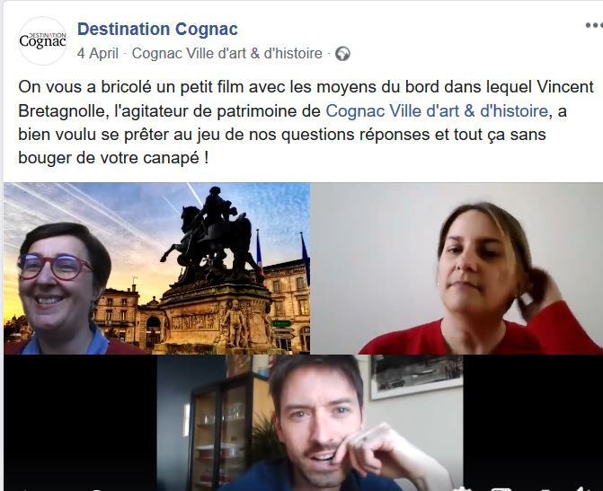 destination cognac en visite virtuelle pendant le confinement