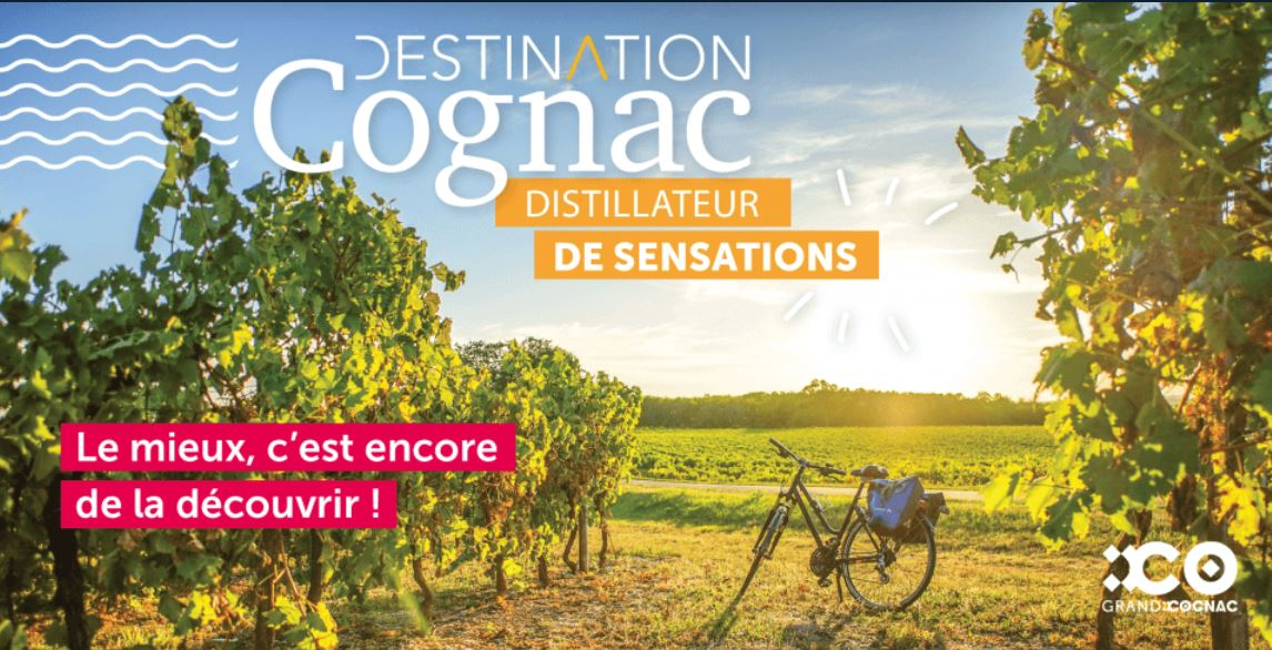 affichage promotion de la destination Cognac