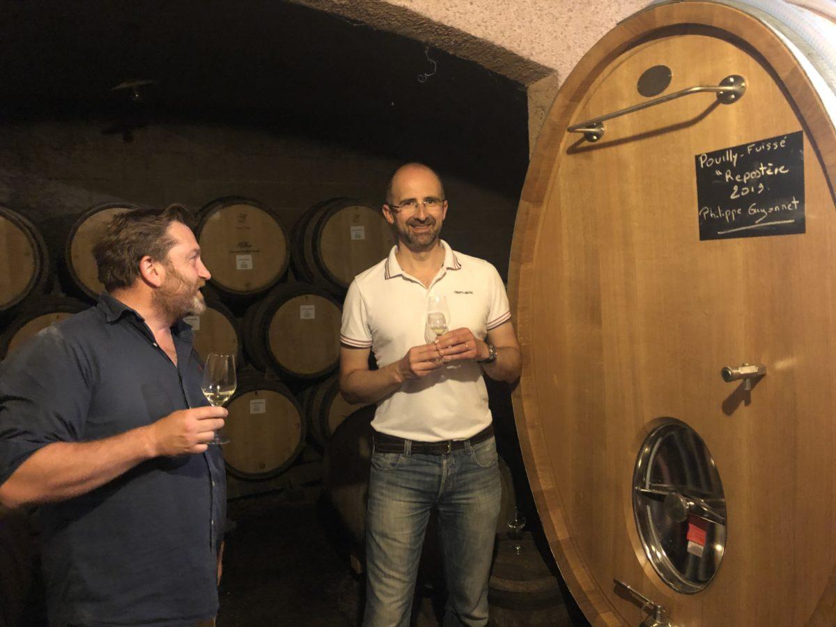 Emmanuel Guillot et Philippe Guyonnet
