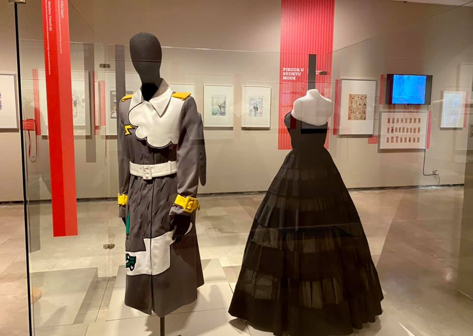 robe Dior musée Zagreb