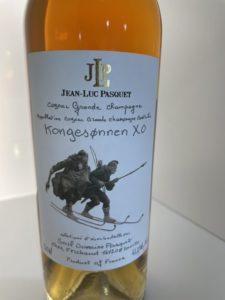 cognac spécialement dédié à un moment de l'histoire de la Norvège