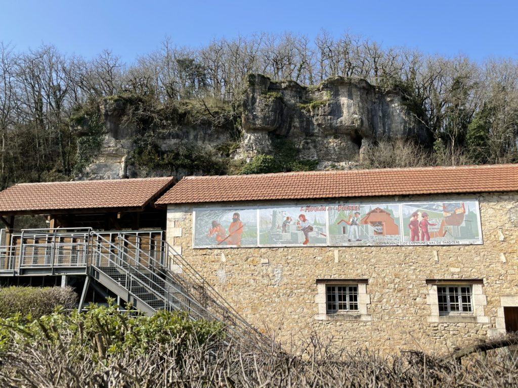 le musée en bord de Tardoire
