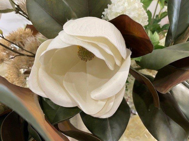 détail d'une fleur artificielle d'Art Alia