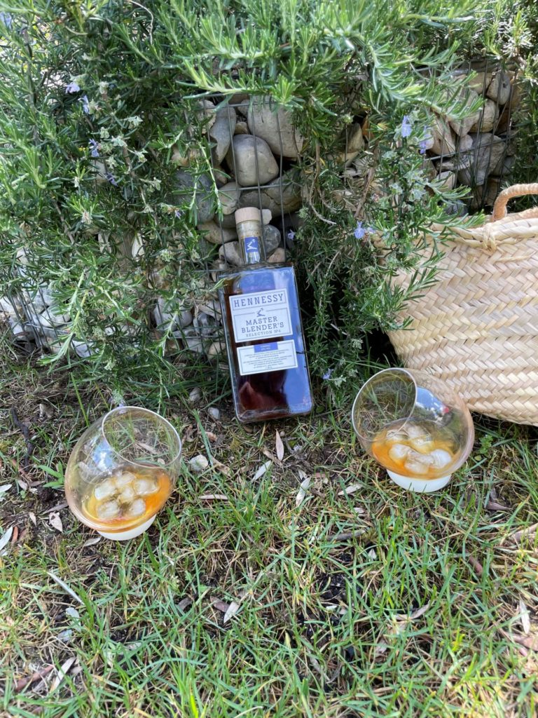 pique nique avec le cognac MBS4 de la Maison Hennessy
