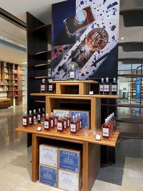 display de MBS4 dans la boutique Hennessy