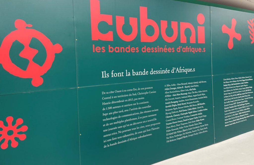 Kubuni, nouvelle exposition à la Cité Internatioale de la bande dessinée et de l'image