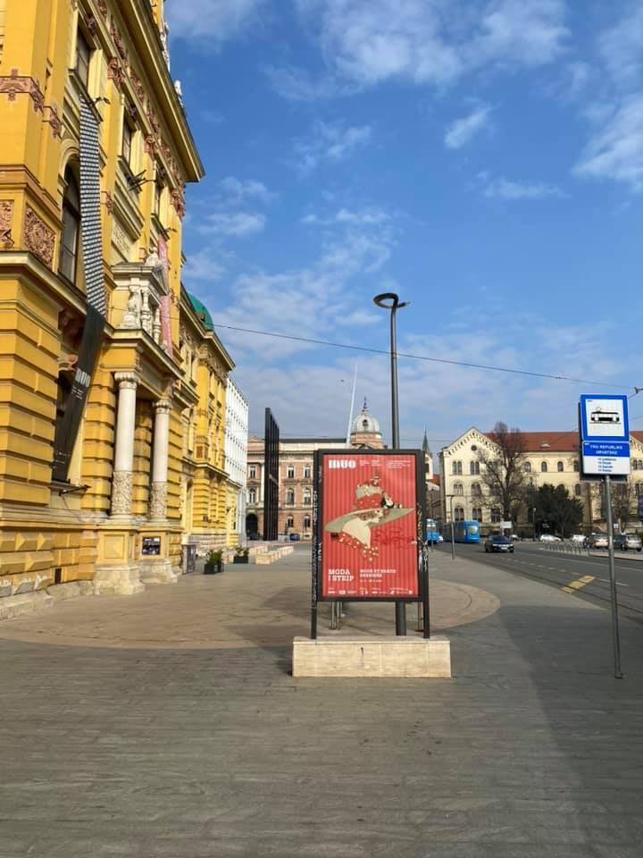 Exposition Moda & BD à Zagreb