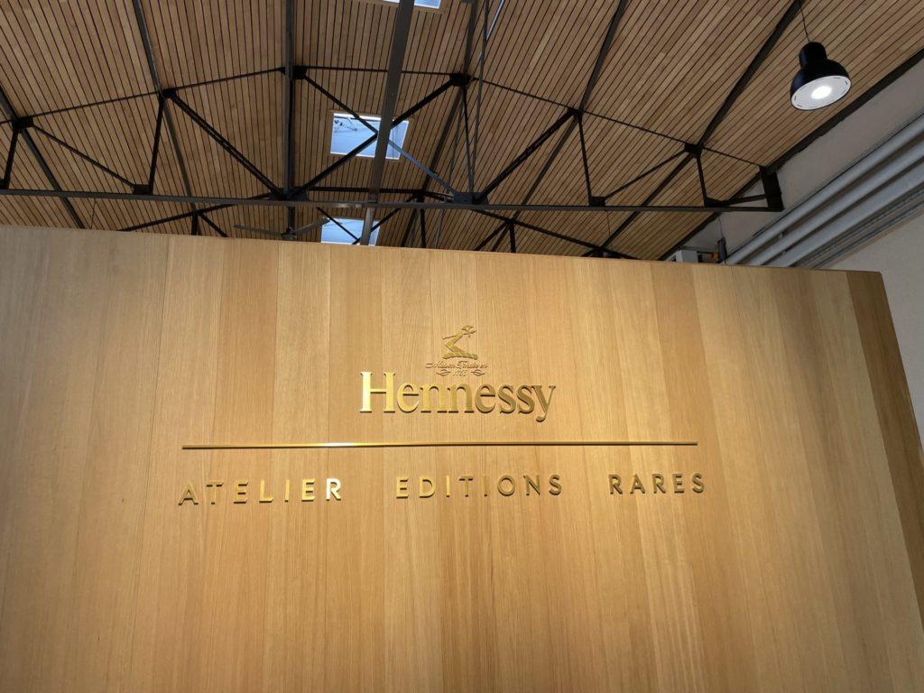 l'Atelier des Editions Rares chez Hennessy
