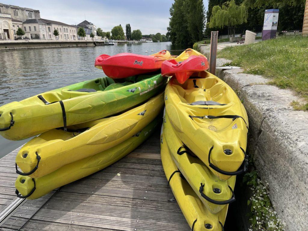 canoe kayak sur la Charente