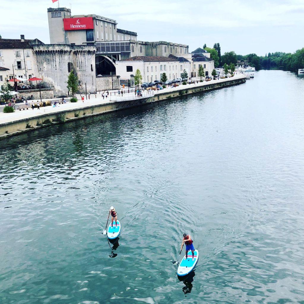 paddle sur la Charente à Cognac